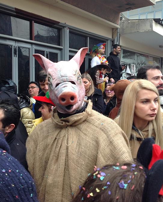 İskeçe Karnavalı, 2015, Yunanistan