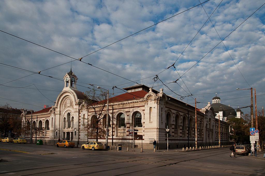 Merkez Hal, Halite, Tsentralni hali, Central Sofia Market Hall, Sofya, Bulgaristan