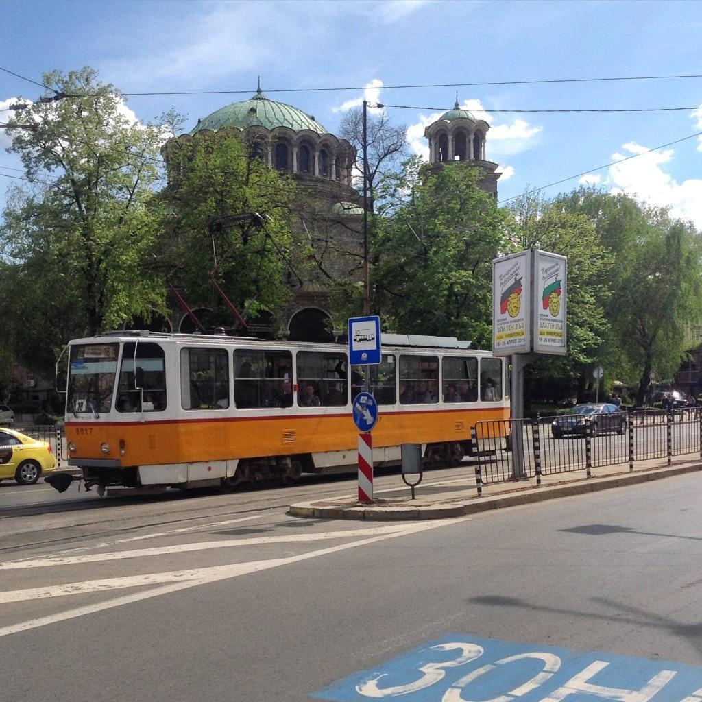 Sveta Nedelya Kilisesi, Şehir İçi Ulaşım, Sofya
