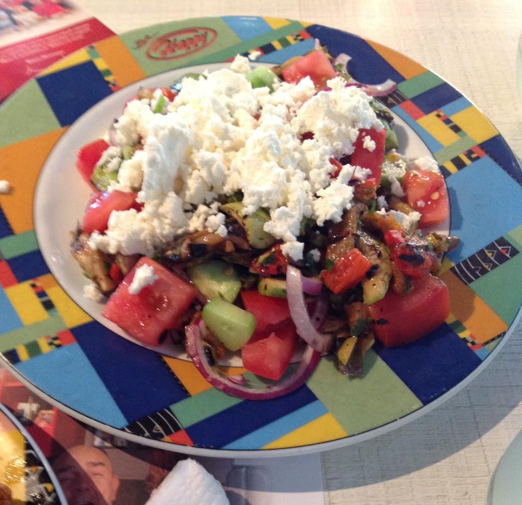Chopska Salad, Çoban Salatası, Happy Grill, Sofya