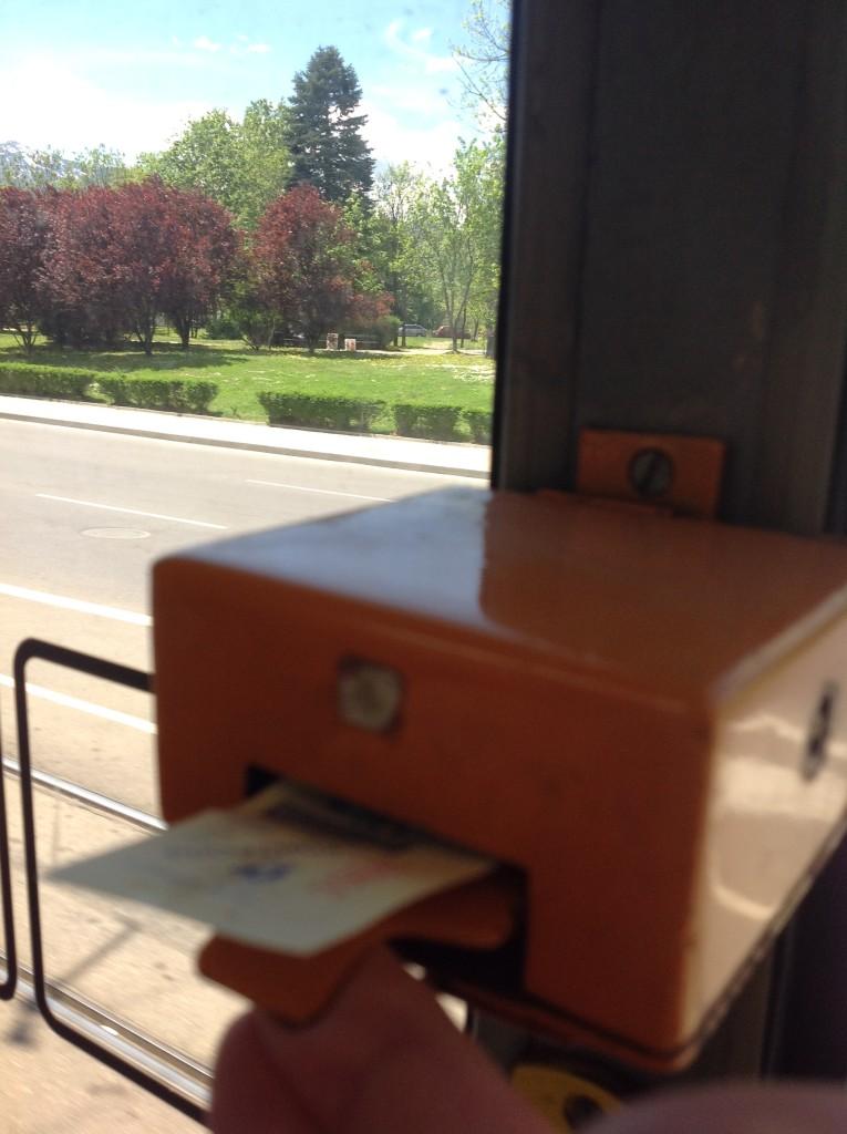 Sofya Tramvay, Bilet Onaylama
