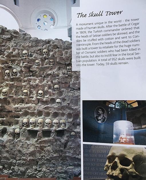 Niş, Kelle Kule, Tanıtım Kitapçığından, Cele Kula, Sırbistan