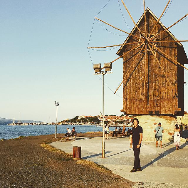 Nessebar Eski Şehir, Değirmen Önünde