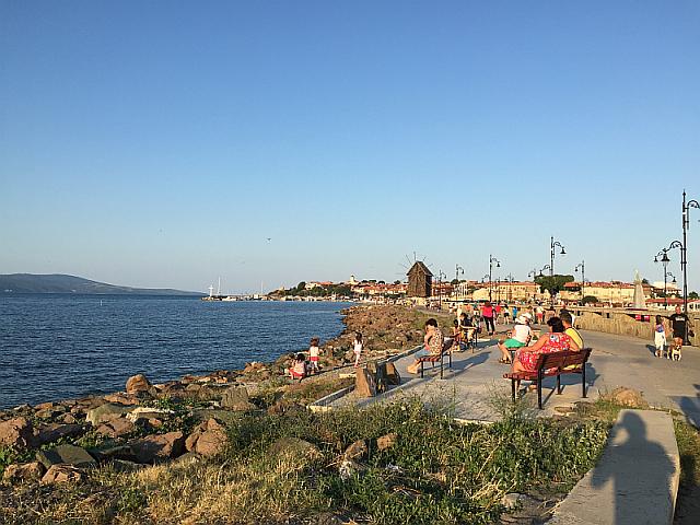 Yeni Şehirden Eski Şehre Bakış, Nessebar