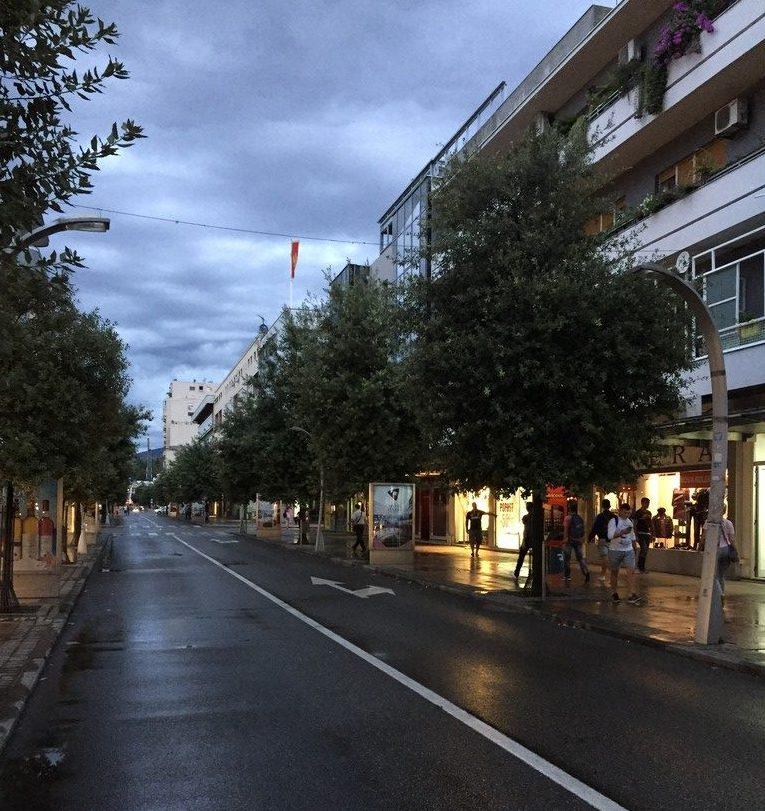 Şehirden Bir Görünüm, Podgorica
