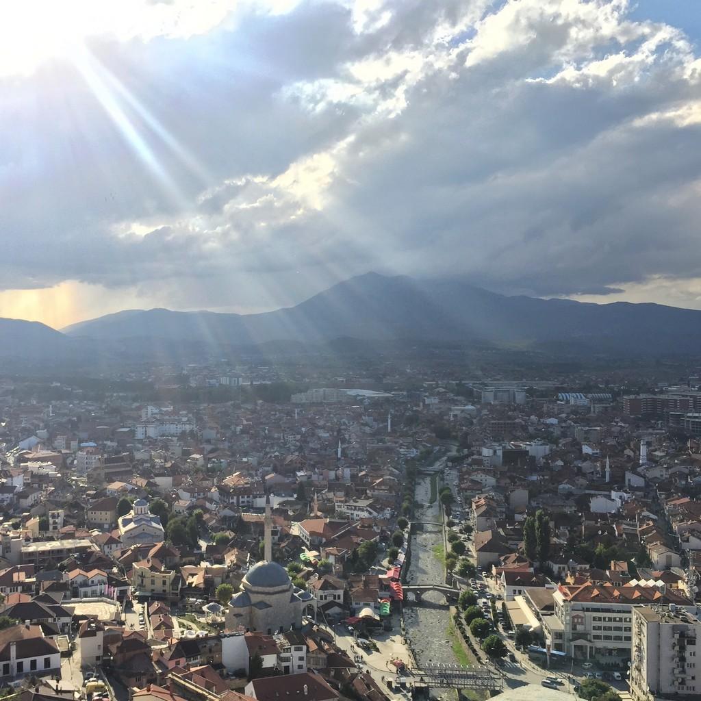 Prizren Kalesinden Şehre Bakış