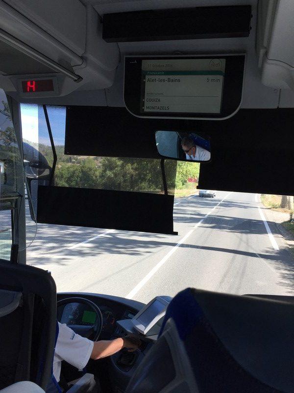 Otobüsün içinden